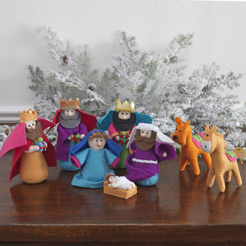 "6"" Plush Nativity"