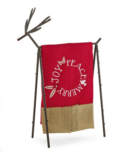 Reindeer Hand Towel Holder
