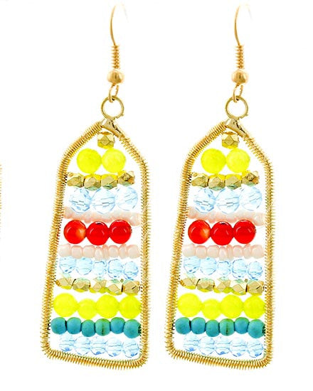 Color Track Earrings