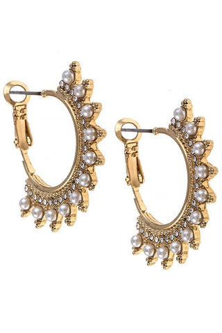Fiona Hoop Earrings