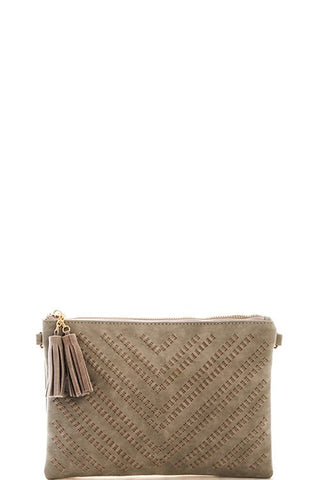 Gracie Clutch - Grey
