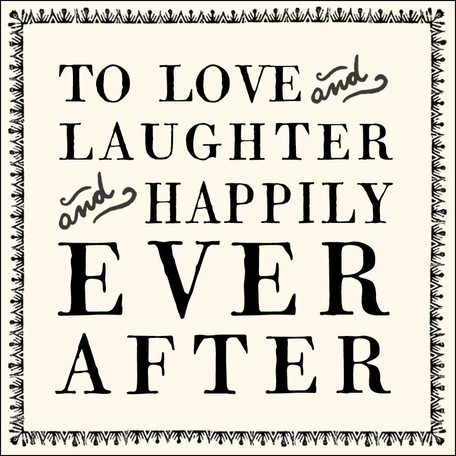To Love & Laughter Notecards - Set of 10