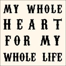 My Whole Heart Notecards - Set of 10