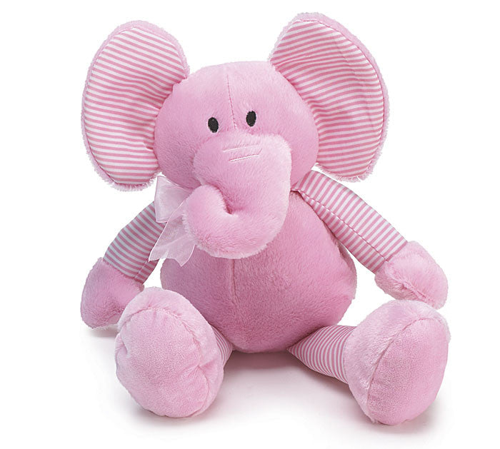Pink Plush Elephant - Large