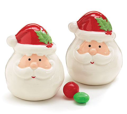 Santa Salt & Pepper Shakers