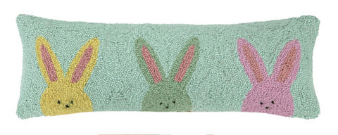 Bunny Trio Hook Pillow