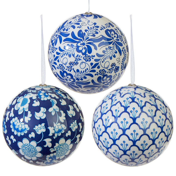 Chinoiserie Ball Ornaments