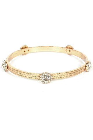 Gold Studded Bangle