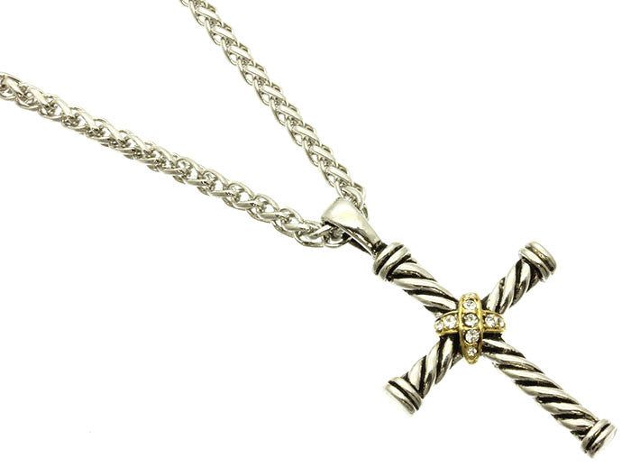 Sweet & Simple Cross Necklace