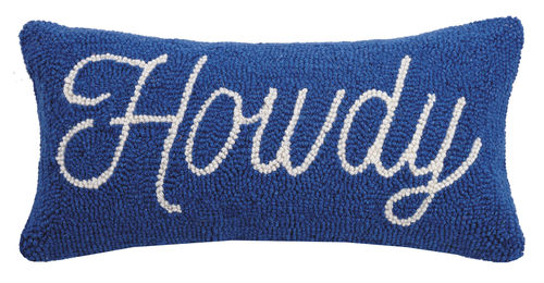 Howdy Hook Pillow