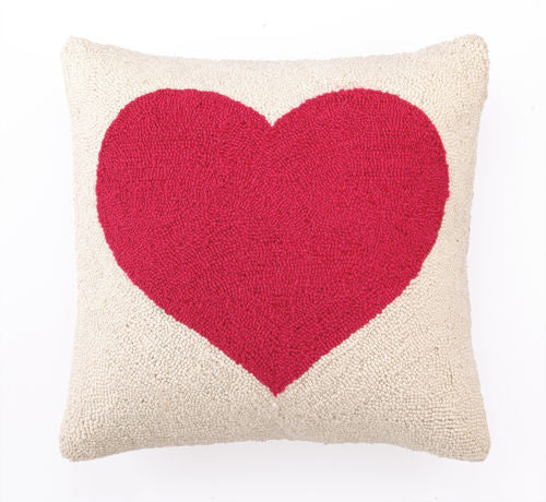 Love Heart Hook Pillow