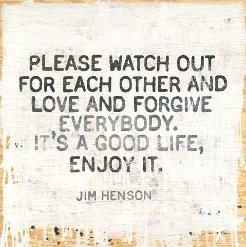 Jim Henson Quote Art