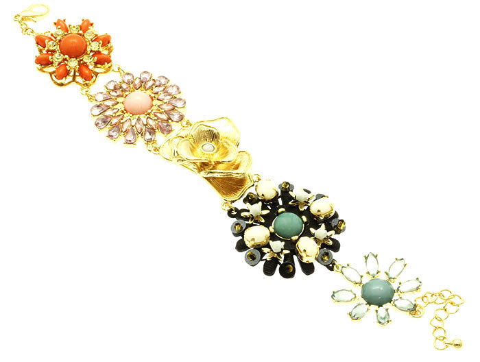 Colorburst Flower Bracelet