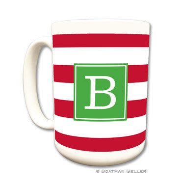 Personalized Mug - Awning Red Strip