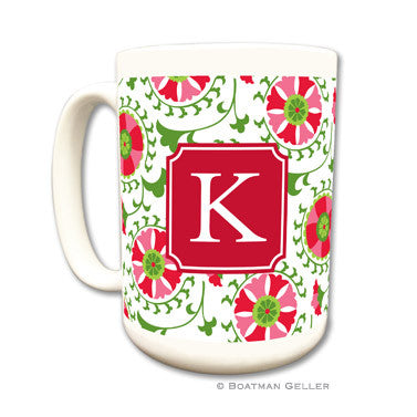 Personalized Mug - Suzani Holiday