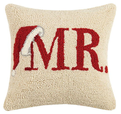 Mr. Santa Hat Hook Pillow