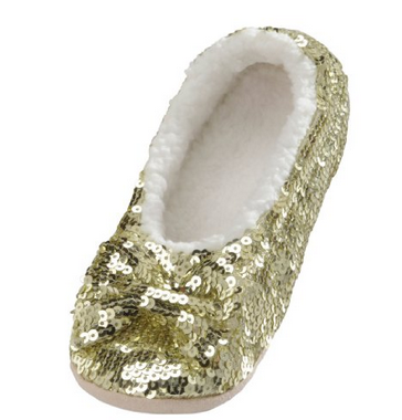 Gold Sequin Snoozies