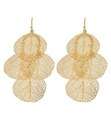 Floating Leaves Earrings