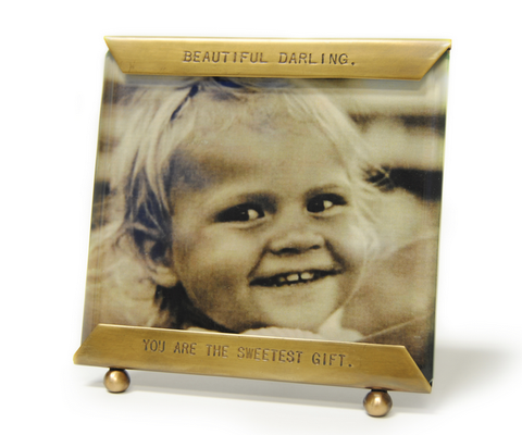 """Beautiful Darling, You Are The Sweetest Gift"" Picture Frame"