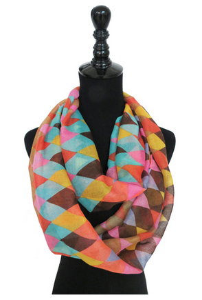 Colorful Dreams Infinity Scarf