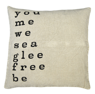 You Me We See Glee Pillow
