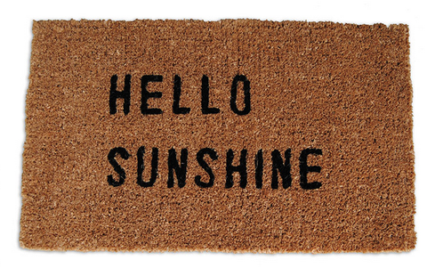 Hello Sunshine Door Mat