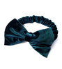 Velvet Bow Headband - Multiple Color Options