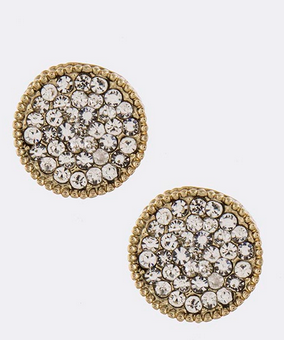 Pave Rounds Studs