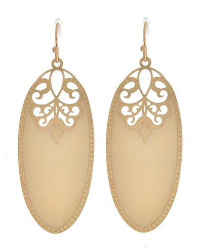 Eden Earrings - Ivory