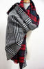 Plaid Blanket Scarf - Double Plaid