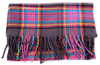 Winter Dreams Scarf - Purple Tartan