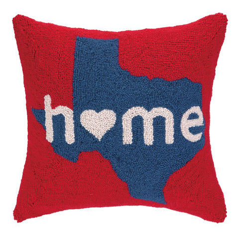 Texas Home Hook Pillow