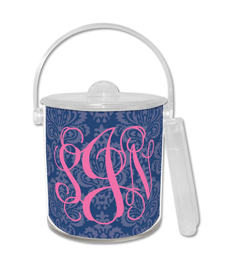 Navy Maddy Ice Bucket