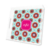 Fire Modern Suzani Personalized Lucite Tray - Square, Small or Large {+ insert refill options}