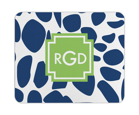 Navy Lizard Personalized Mouse Pad