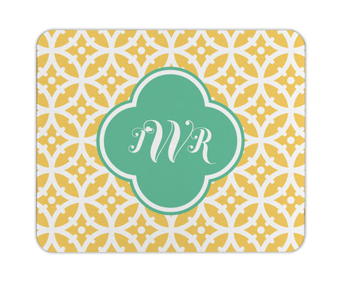 Lemon Bloom Personalized Mouse Pad