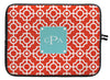 "Fire Lattice Personalized Laptop Sleeve - 13"" or 15"""
