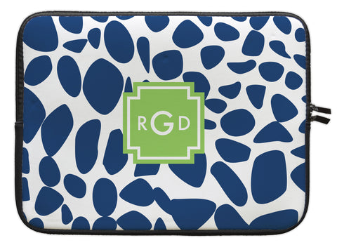 "Navy Lizard Personalized Laptop Sleeve - 13"" or 15"""