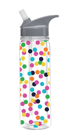 Insulated Fun Dot Water Bottle