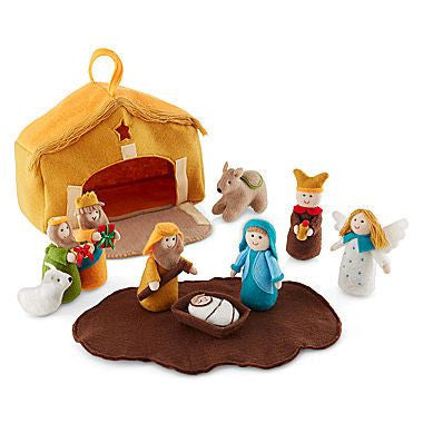 Felt Children's Nativity Set