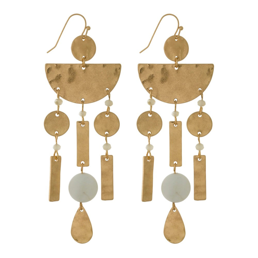 Goldie Dangle Shapes Earrings