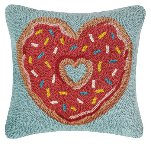 Heart Donut Hook Pillow