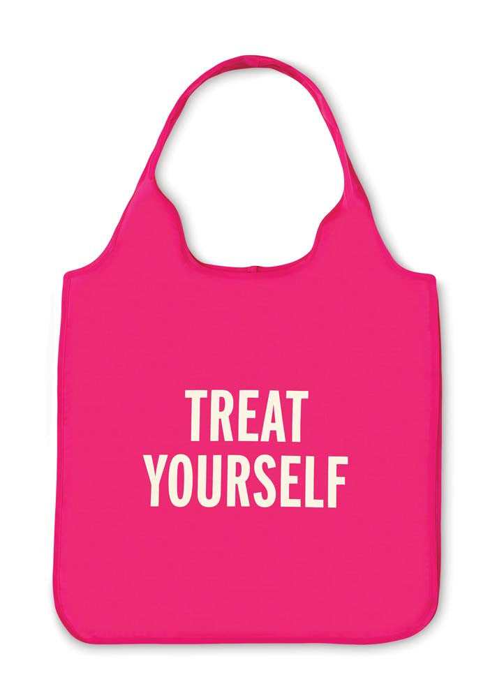 "Kate Spade Reusable Tote - Pink ""Treat Yourself"""