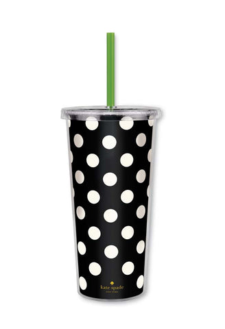 Kate Spade Insulated Tumbler - Polka Dots