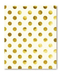 Kate Spade Spiral Notebook - Gold Dots