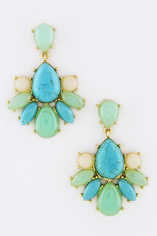 Sea of Teardrops Earrings