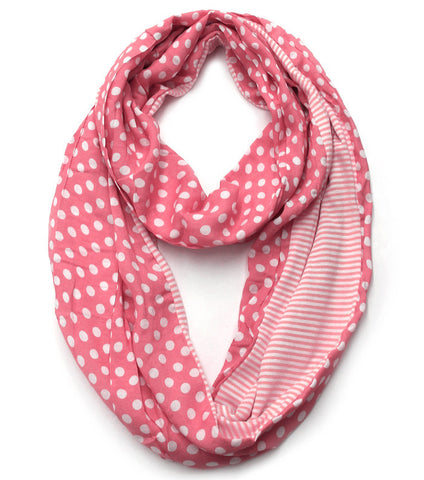 Double Love Scarf - Pink
