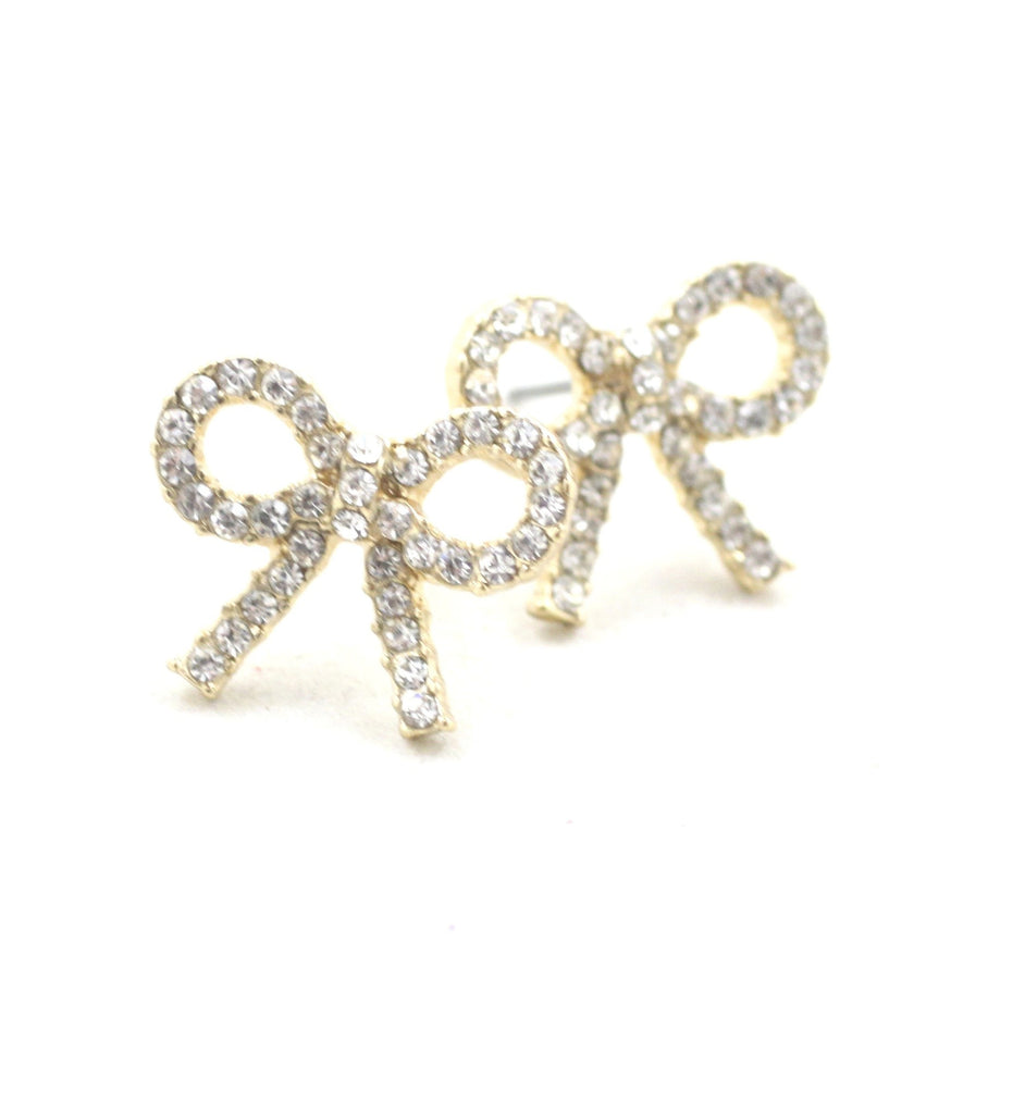 Bow Studs - Gold or Silver