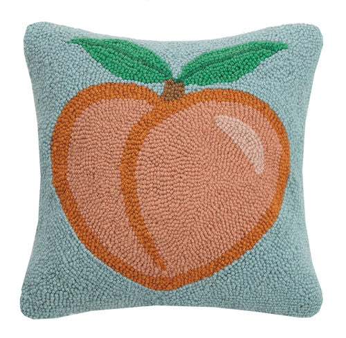 Peach Hook Pillow