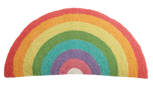 Rainbow Shaped Hook Pillow